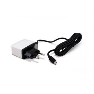 CARGADOR 5V CASA A MICRO USB 2A 1.5M 3GO
