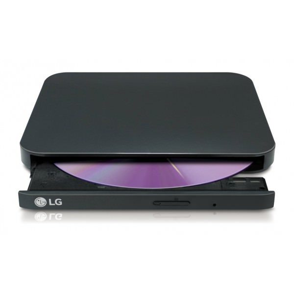 LG Ultra Slim GP90EB70 Grabadora Externa DVD Negra