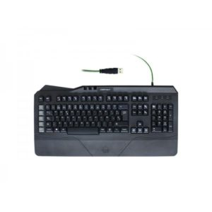 TECLADO KEEP OUT F89 GREEN BACKLIGHTNING