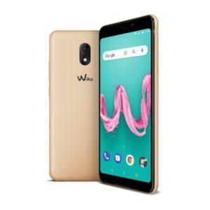 TELEFONO MOVIL WIKO LENNY 5 ORO 5.7″-QC1.3-16G-1GB